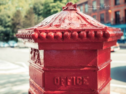 An old London post box.