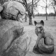 Sculptures in Regents Park, London.