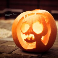 A Halloween pumpkin