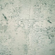 A pattern created by small cracks in a wall