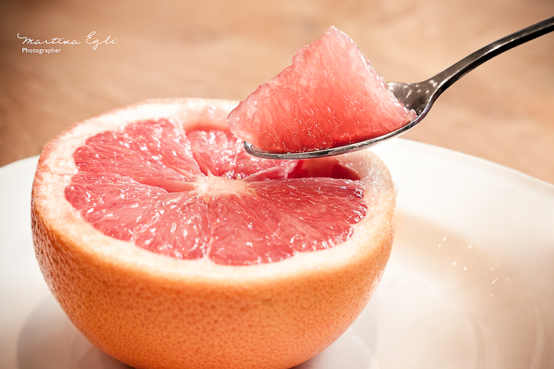 Breakfast: Grapefruit