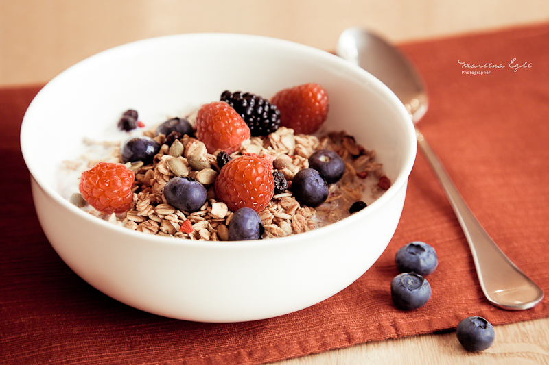 Breakfast: Muesli