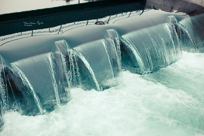 water dam in Luzern