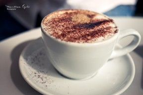 A damn fine cup of coffee... cappuccino.