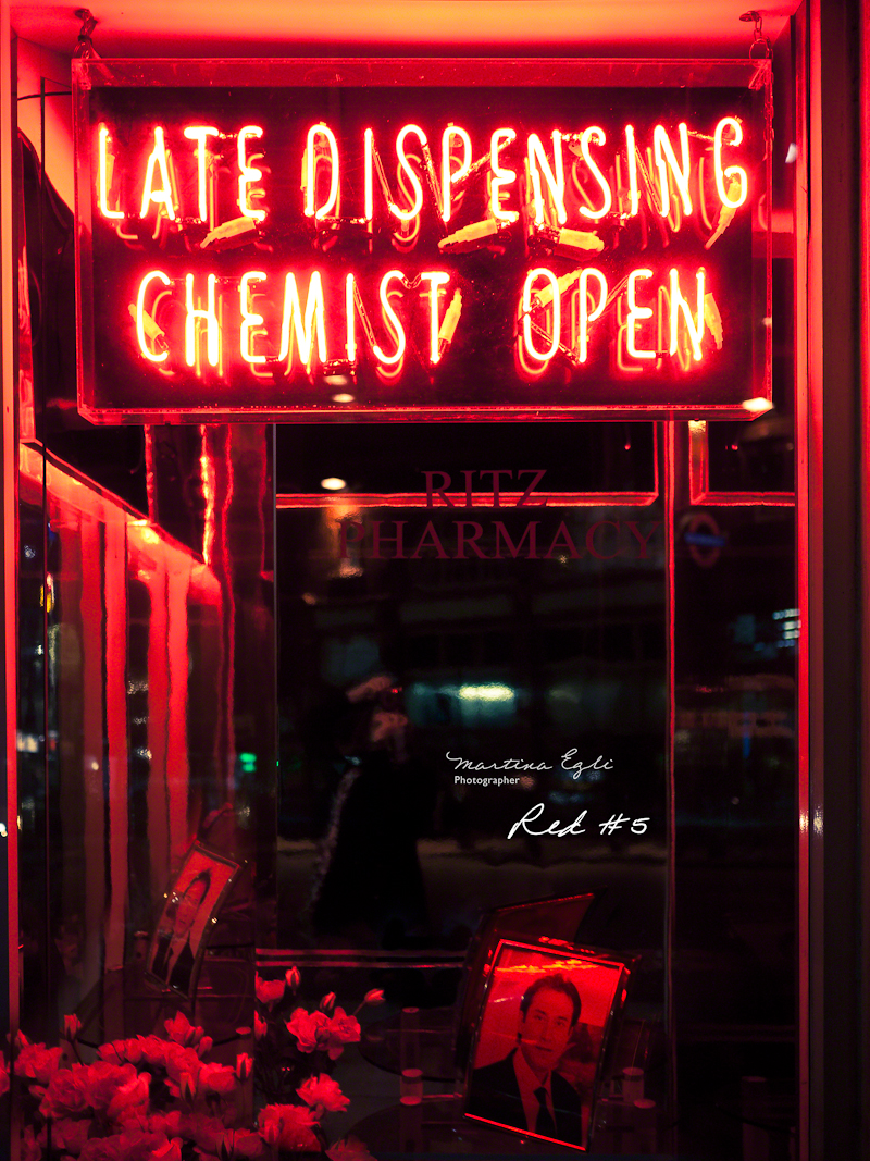 A Late Night Chemist's Sign