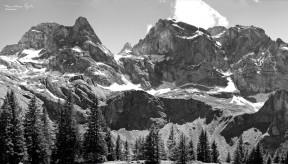 Part of a Swiss Mountain Range