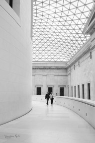 Great Court at the British Museum, London